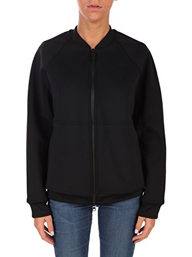 adidas Damen Icon Bomber Jacke, Black/Negro, XL