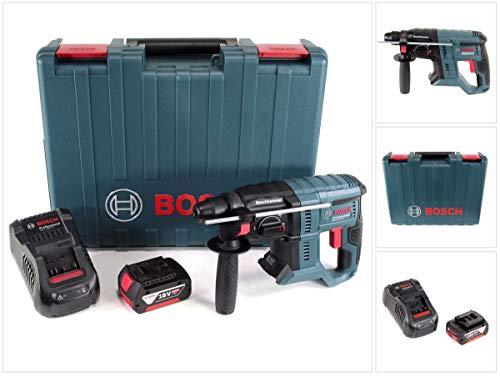 Bosch GBH 18V de 20Professional Taladro Inalámbrico Con Sds Plus + 1x 5Ah Batería + Cargador en caja de transporte