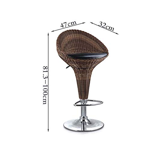 YIZ stoelen moderne meubels eenvoudige moderne rugleuning rotan hoge stoel bar lift hoge kruk creatieve bar