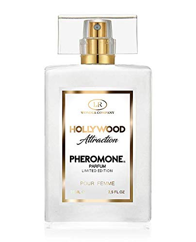 Hollywood Attraction Femme, Perfume de mujer con feromonas, para atraer y seducir (1x75 ml) - LR Wonder Company