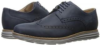[コールハーン] メンズ 男性用 シューズ 靴 オックスフォード 紳士靴 通勤靴 Original Grand Shortwing - Blazer Blue Leather/Ironstone [並行輸入品]