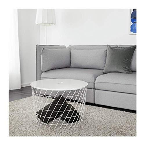 """IKEA Kvistbro Storage Table White 503.222.39 Size 24"""""""