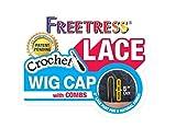 Freetress 5' Lace Crochet Wig Cap w/Combs