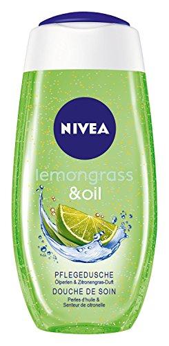 Nivea Lemongras und Oil Duschgel mit Pflegeöl-Perlen, 2er Pack (2 x 250 ml)