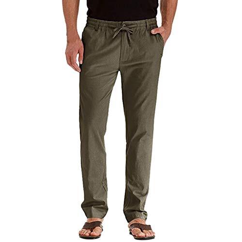 Romantic Pantalon Chino Slim Fit Homme Pantalon Homme Chino incontournable et indémodable de Tout vestiaire Masculin Homme Jambes Amples Couleur Uni