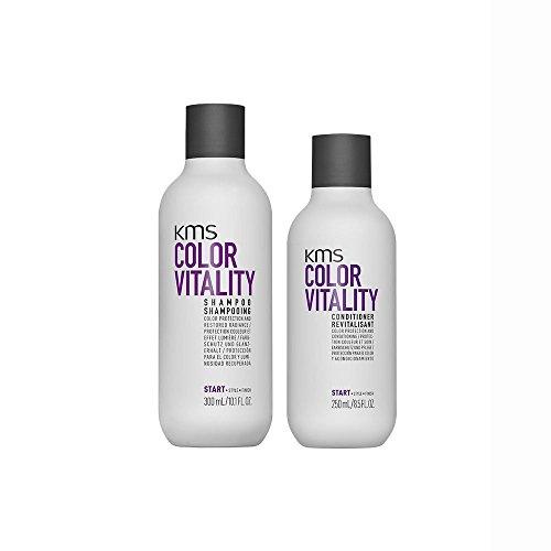 KMS California Color Vitality Shampoo 300 ml und Conditioner 250 ml