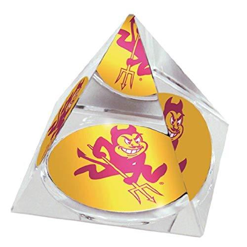 NCAA Arizona State University Sun Devil Stadion in 5,1cm Kristall Pyramide mit bunten verglaste Geschenkbox