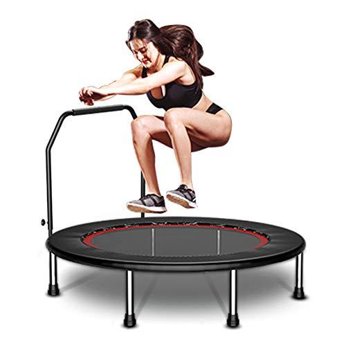 AXBC Trampoline springmat voor kinderen/volwassenen springen training stevige veiligheid inklapbare sport Fitness met armleuningen 40 inch
