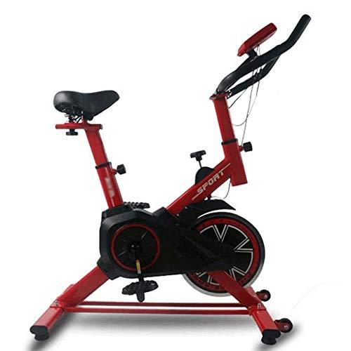 JNWEIYU Acero Inoxidable Bicicleta estática, Profesional Cubierta Bicicleta estática, Ejercicio aeróbico for...