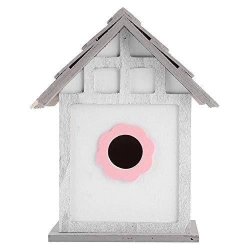 JULYKAI Nest Box Nesting House Nesting Box, Bird House, Bird Feeding House for Garden for Outdoor