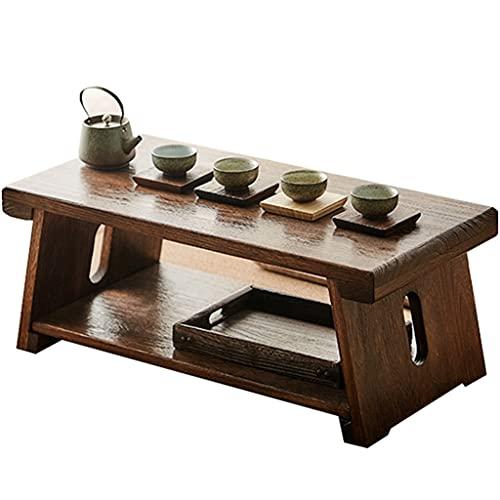 Mesa De Té Antigua Plegable Mesa De Té Zen Mesa Auxiliar para...