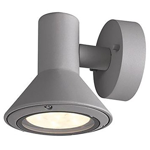 BRANDSSELLER LED buitenwandlamp massieve wandlamp buitenlamp buitenlamp huisdeurlamp aluminium - 6W - 520 lumen - warm - IP54