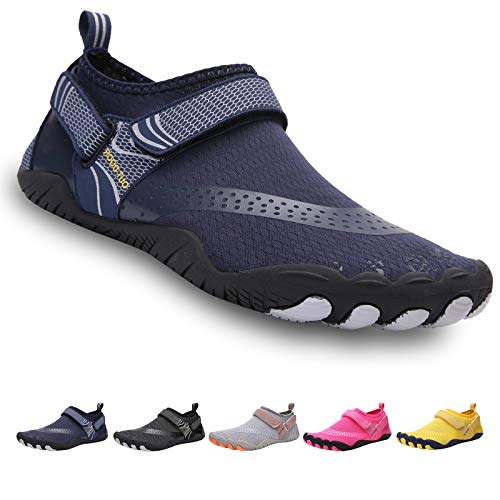 Zapatillas Agua Trail Acuaticas Hombre Calzado Minimalista Zapatos Mujer Escarpines Playa Piscina Buceo Transpirables Velcro Unisex