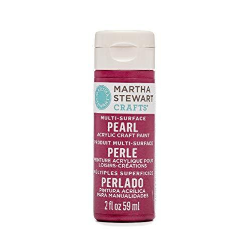 Martha Stewart Crafts 2Oz Fruit Punch Pearl Farbe, Mehrfarbig