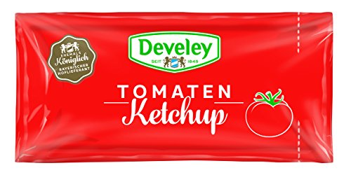 DEVELEY Tomaten Ketchup, 200er Pack (200 x 15 ml)
