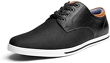 Bruno Marc Men's RIVERA-01 Black Oxfords Shoes Sneakers Casual Dress Shoes Size 10 M US