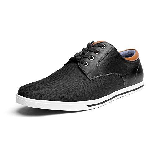 Bruno Marc Men's RIVERA-01 Black Oxfords Shoes Sneakers Casual Dress Shoes Size 10.5 M US
