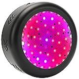 GUOYULIN Lámpara de Planta UFO LED Lámpara Cultivo de Espectro Completo de 150 W, 50 Leds, Lámpara de Crecimiento para Plantas de Interior, Invernadero Hidropónico, Suculentas, Semillas