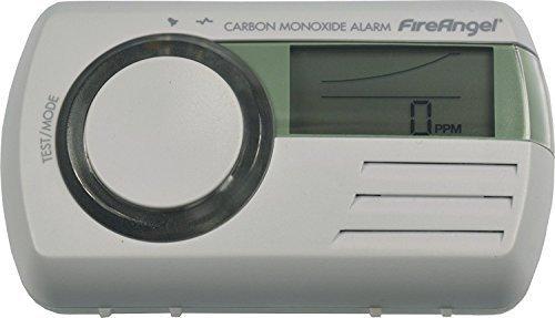 2x Fire Angel CO-9D Kohlenmonoxidmelder testsieger CO|Tragbar oder feste Nutzung|CO-Detector Batteriebetrieben 7 Jahre lang|Digital|Optischer und akustischer Sensor|Automatische Diagnosesteuerung|Weiß