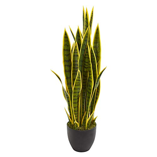 planta sansevieria de la marca Nearly Natural