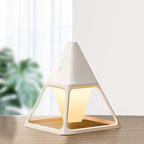 weiwei Humidificador difusor de Aroma humidificador difusor de habitación 3 Colores de luz LED para el Dormitorio de la Oficina en casa
