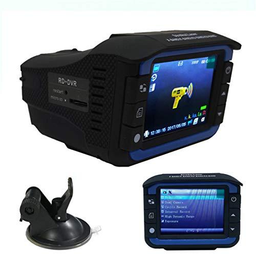 Dash Cam voor en achter de camera FHD 1080P, 2 Inch 120 ° Wide Angle Dashboard Camera DVR Motion Detection Parking Monitor G-Sensor HDR
