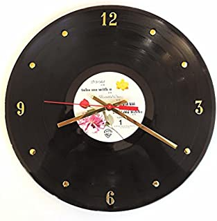 prince vinyl wall clock