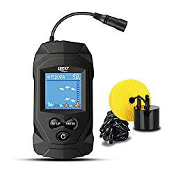 LUCKY Portable Fish Finders Sonar Transducer
