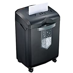 Continuous running time up to 60 minutes without stopping with an advanced cooling system and patented cutting technology. Cross-cut shredder up to 18 sheets(Letter Size, 20lb) at a single pass, shreds paper into tiny particles measuring 13/64 x 1-37...