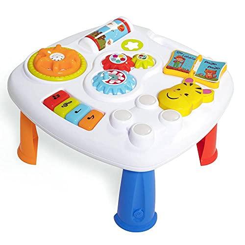 Brinquedo Educativo, Music Table, Tateti, Multicor