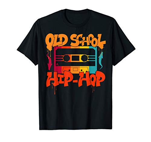 Retro Old School Hip Hop Cassette T-shirt, 10 Colors for Adults or Youth