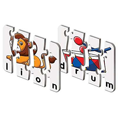 The Learning Journey: Match It! - 4 Letter Words - 20 Self-Correcting Reading & Spelling Puzzles with Matching Images from Learning Journey Intl