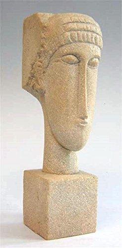Modigliani Kopf - Museumsshop (Replikat) #07 nach Amedeo Modigliani