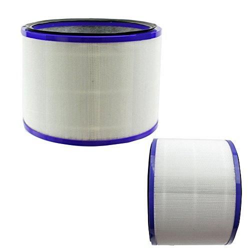REYEE 2 filtros para Dyson Pure Cool Link Desk Hot + aire frío Limpiador ventilador DP01