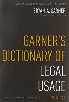 Garner s Dictionary of Legal Usage