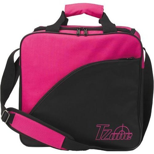 "Brunswick 1 Ball Bowlingtasche ""T-Zone"" in pink/black"