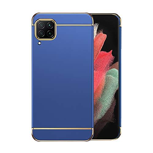 Funda Huawei P40 Lite 5g Case,Fundas Huawei P40 Lite Antigolpes Carcasa Diseño Minimalista Estuche Rígido Ultra Original Delgado de PC a Prueba (Huawei P40 Lite, Azul)