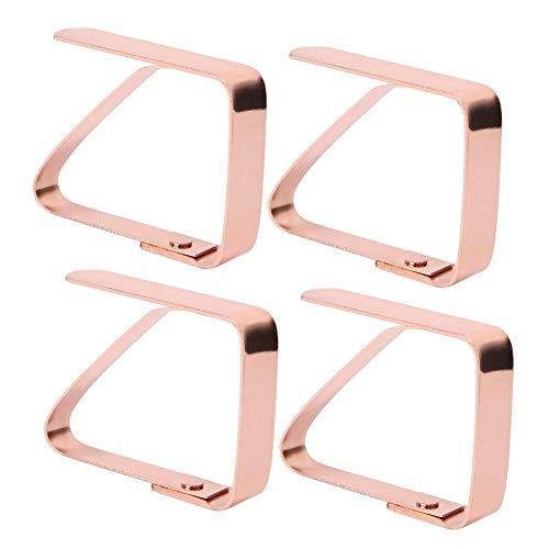 4 stuks tafelklem klemmen roestvrij staal tafelklem clips anti-slip tafelkleden klemmen voor thuis, feesten, picknicks