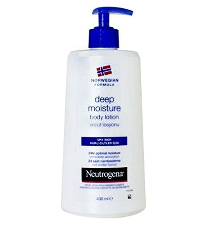 価値解任団結Neutrogena Norwegian Formula Deep Moisture Body Lotion For Dry Skin 250ml - 乾燥肌の250ミリリットルのためのニュートロジーナノルウェー式の深い水分ボディローション (Neutrogena Norwegian Formula) [並行輸入品]