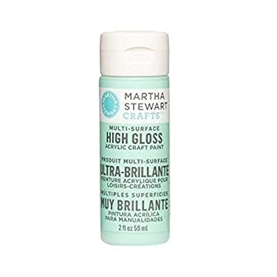 Martha Stewart Crafts Multi-Surface High Gloss Acrylic Craft Paint in Assorted Colors (2-Ounce)