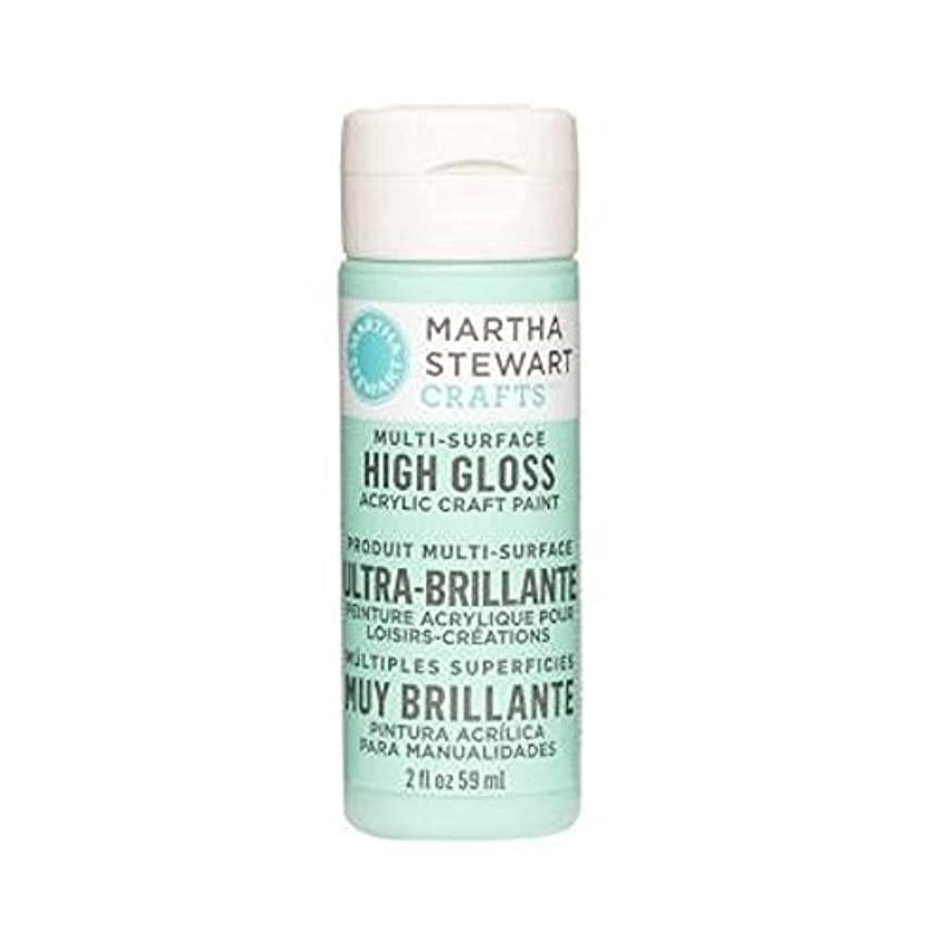 Martha Stewart Crafts Multi-Surface High Gloss Acrylic Craft Paint in Assorted Colors (2-Ounce), 32086 Beach Glass