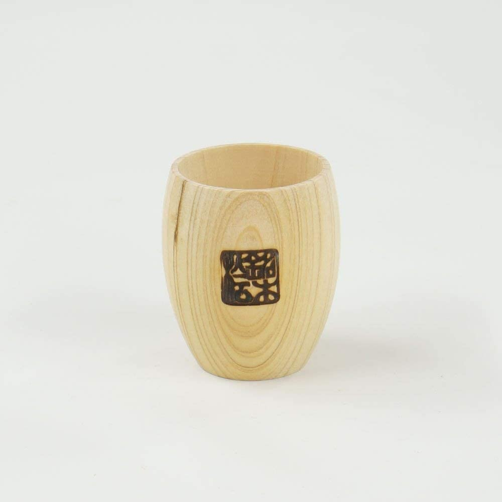Japanese Hinoki Sake Cup Round Ranking TOP8 Special Campaign Design