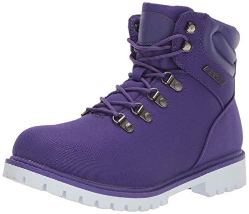Lugz Women's Grotto II Fashion Boot, Purple/White, 8 M US