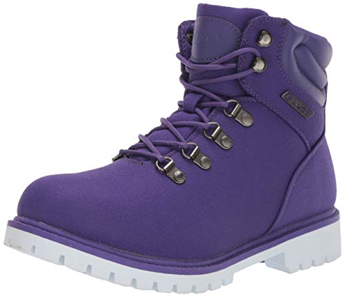 Lugz Women's Grotto II Fashion Boot, Purple/White, 9.5 M US