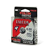 Falcon - Hilo de Pescar de Nailon Persicus Prestige Bl.40, Color Gris Claro, 0,4 mm x 100 m