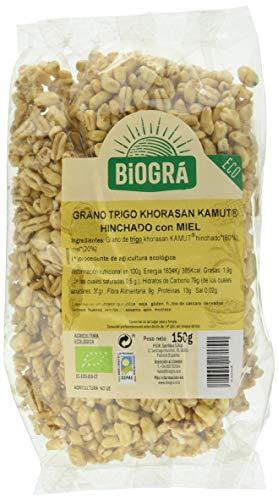 Biográ Kamut Hinchado Con Miel 150G Biogra Bio Biográ 100