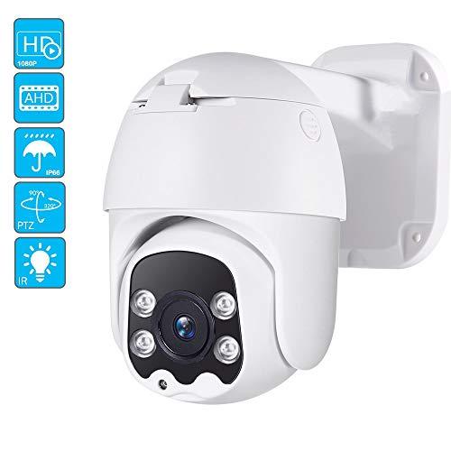 Telecamera PTZ AHD 2.0MP Telecamera esterna CCTV 1080P Telecamera analogica Speed Dome Sistema di sicurezza impermeabile Telecamera di sorveglianza 30M Inclinazione Solo fotocamera