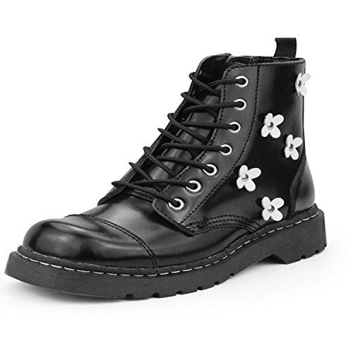 T.U.K. White Flower Boot Boots schwarz EU41