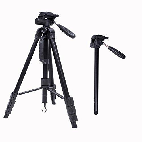 MASUNN Cambofoto Sab264 Professionele Draagbare Aluminium Reisstatief Monopod Voor Dslr Camera