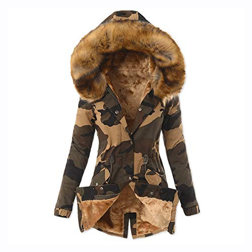 Womens Winter Coats, Women's Jacket Lined Hooded Lightweight Raincoat Waterproof Outdoor Windbreaker Coats